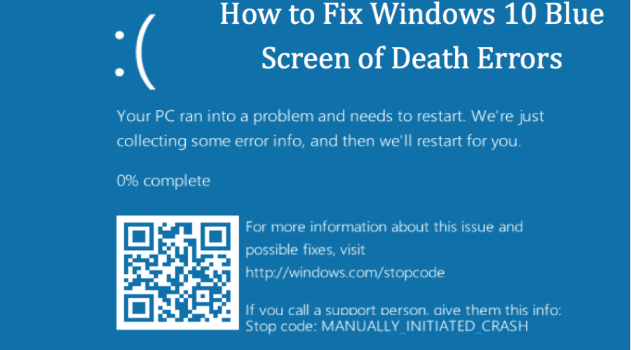 How To Fix Blue Screen Of Death In Windows 10?