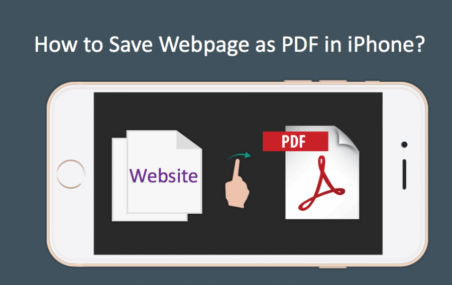 How to Save Webpage as PDF in iPhone?
