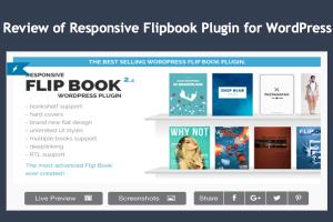Review of Responsive Flipbook Plugin for WordPress