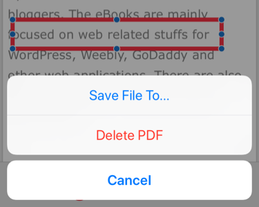 save webpage as pdf javascript