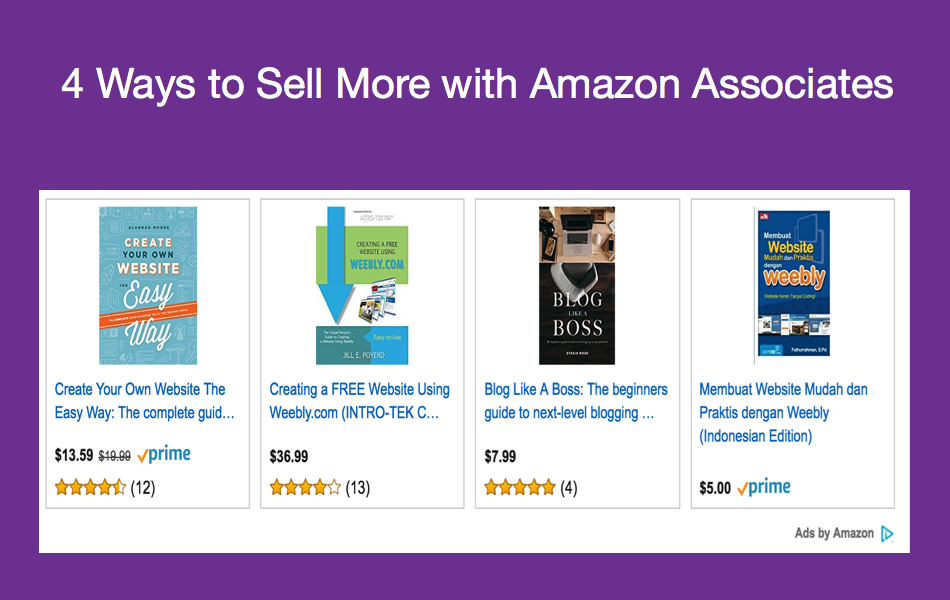4 Ways to Sell More With Amazon Associates