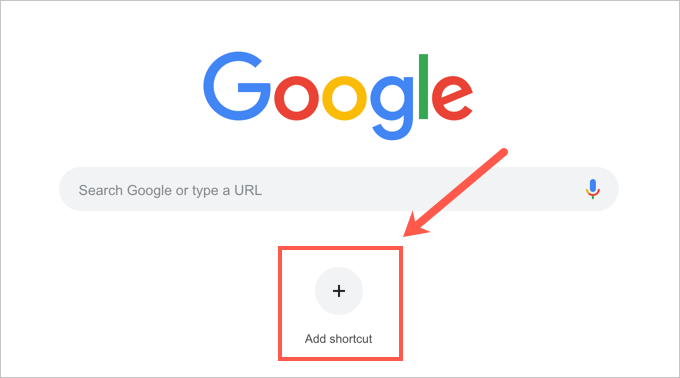 Adding Shortcuts in Chrome New Tab Page