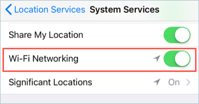 Disable Wi-Fi Networking in iOS
