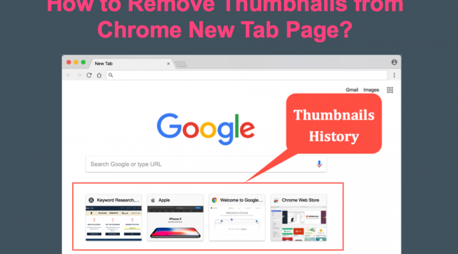 How to Remove Shortcuts from Chrome New Tab Page?