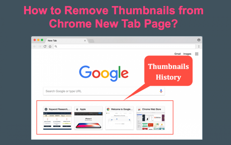 How to Remove Thumbnail Shortcuts from Chrome New Tab Page?