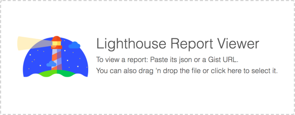 Lighthouse Report Viewer