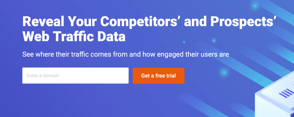 SEMrush Traffic Analytics Tools