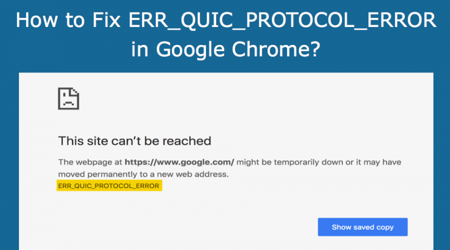 Fix ERR_QUIC_PROTOCOL_ERROR in Chrome