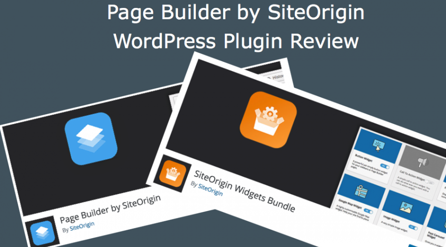 Page Builder by SiteOrigin WordPress Plugin Review