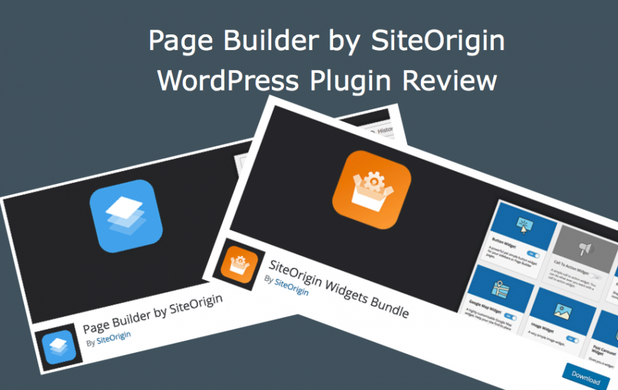 Page Builder by SiteOrigin WordPress Plugin Review