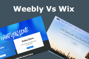 Weebly Vs Wix Comparison and Review