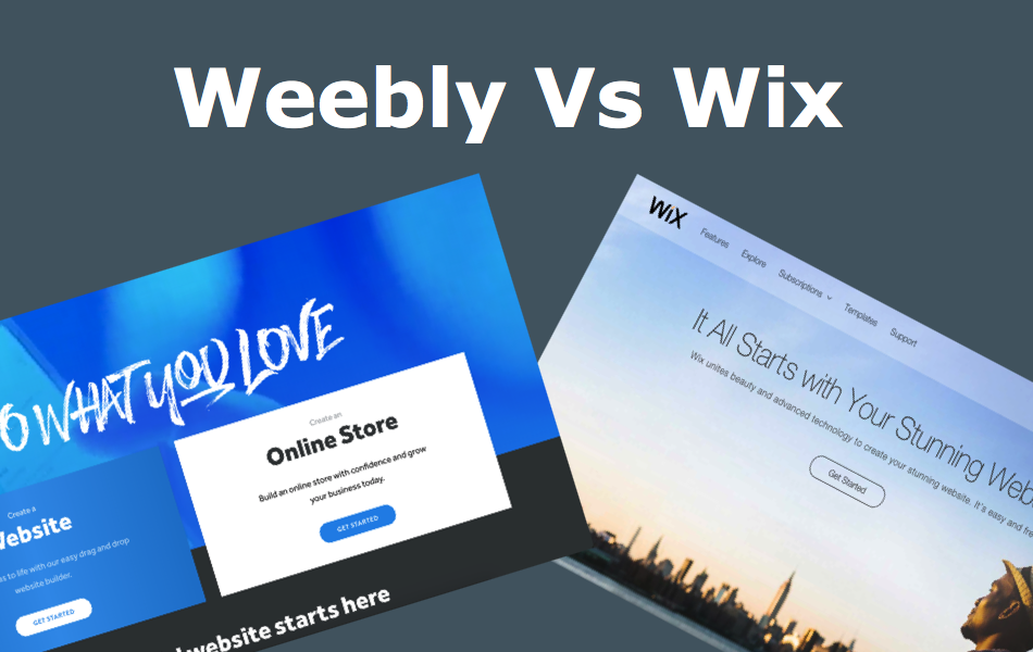 Weebly vs. Wix – Comparison and Review for Beginners