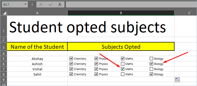 Checking Multiple Checkboxes