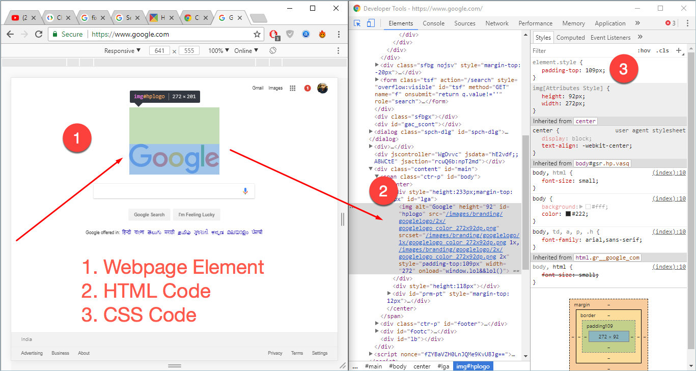 Viewing Code in Developer Tools