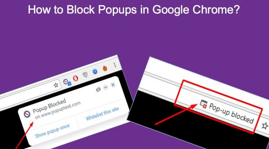 How To Block Popups In Google Chrome?