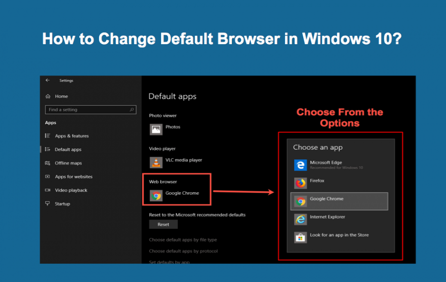 How to Change Default Browser in Windows 10?
