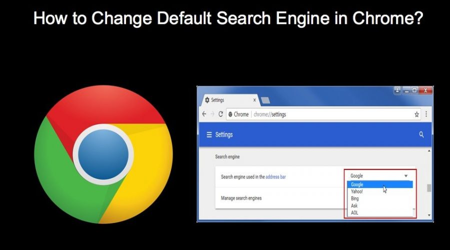 How to Change Default Search Engine in Chrome?