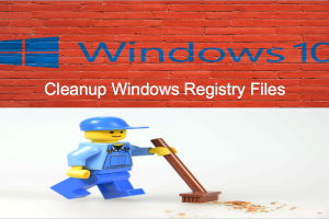 How to Cleanup Windows Registry Files?