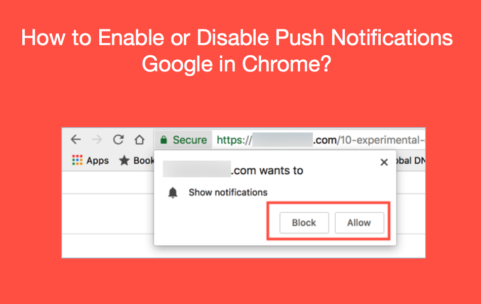 How to Enable or Disable Push Notifications in Chrome?