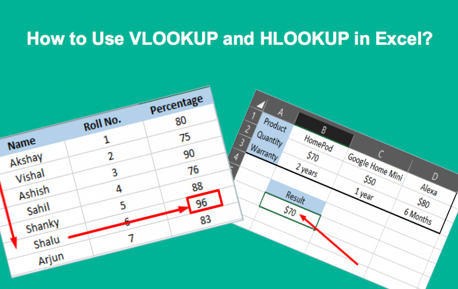 How to Use VLOOKUP and HLOOKUP in Excel?