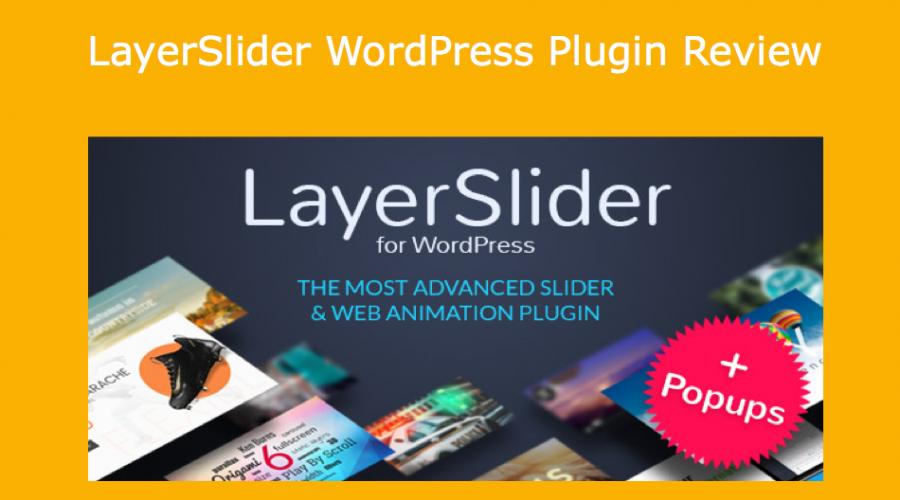 LayerSlider WordPress Plugin Review