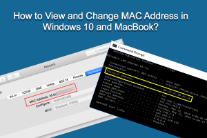 View and Change MAC Address in Windows and MacBook