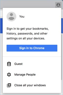 Accessing Guest Mode in Chrome
