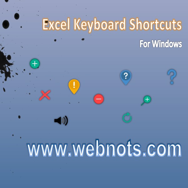 Excel Keyboard Shortcuts PDF