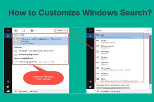 How to Customize Windows Search?