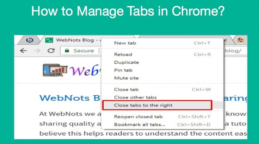 7 Ways to Manage Tabs in Google Chrome
