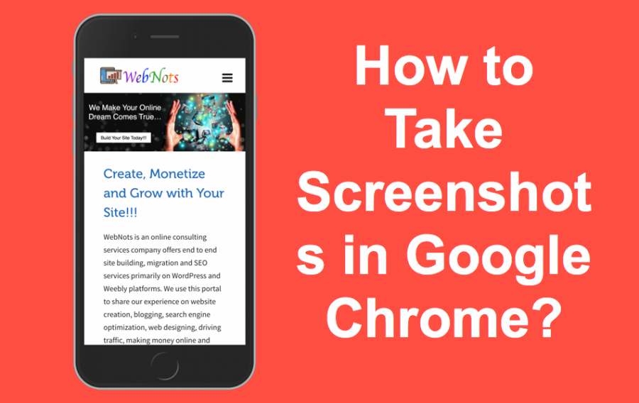 How to Take Screenshots with Google Chrome Browser?