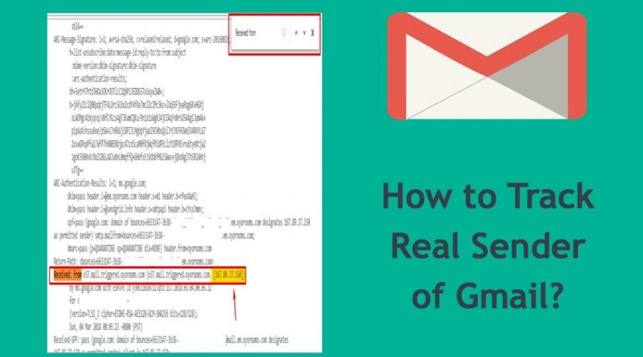 How To Track IP Address of Real Sender In Gmail?