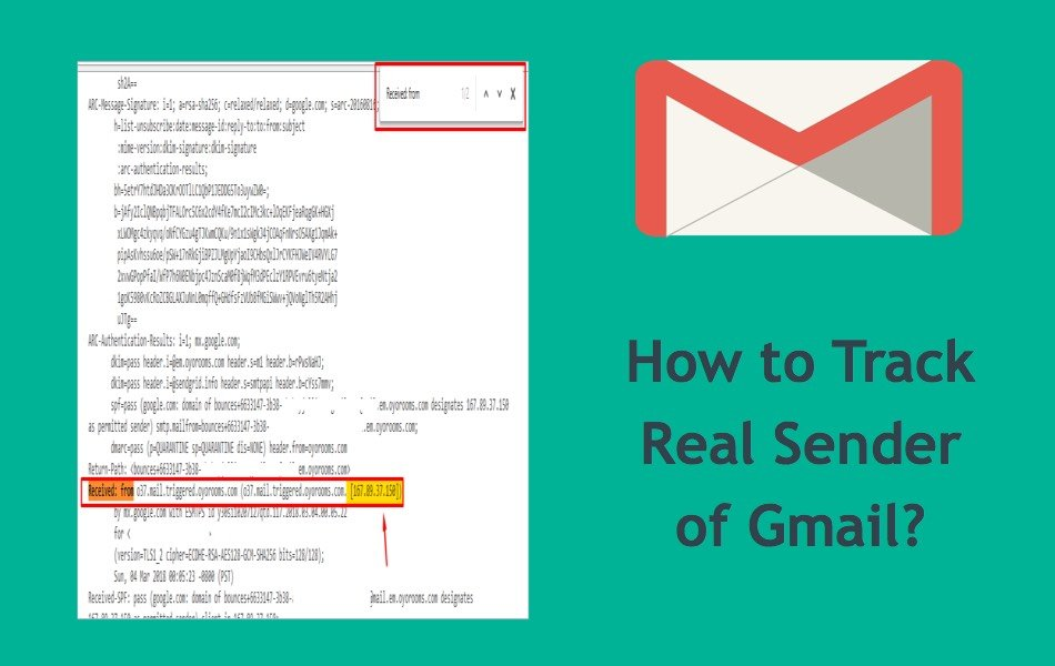 How to Track Real Sender of Gmail?