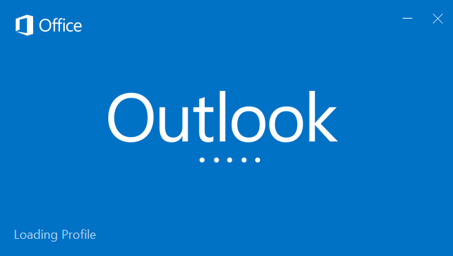 Outlook Loading Profile