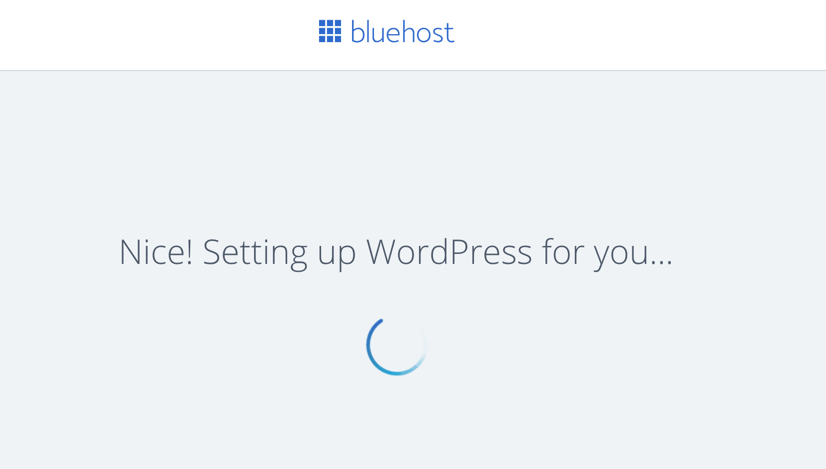 Setting Up WordPress