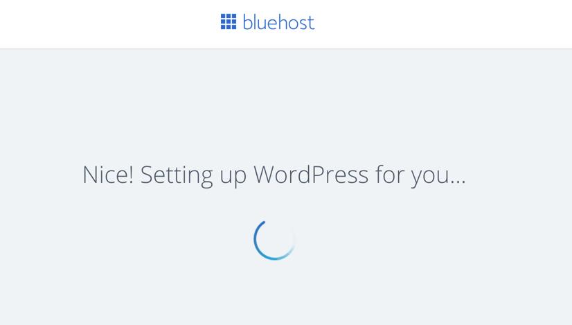 Setting Up WordPress