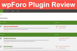 wpForo Plugin Review