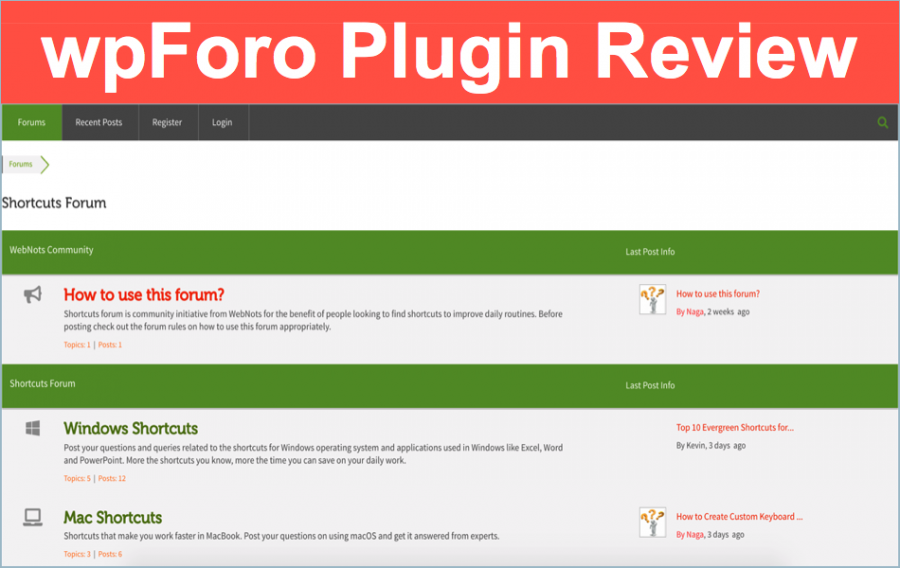 wpForo WordPress Forums Plugin Review