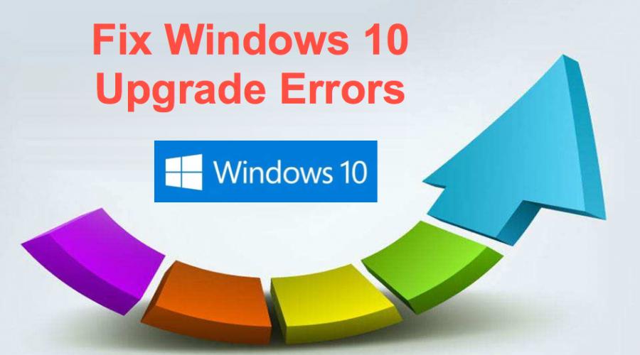How to Fix Windows 10 Upgrade Errors?