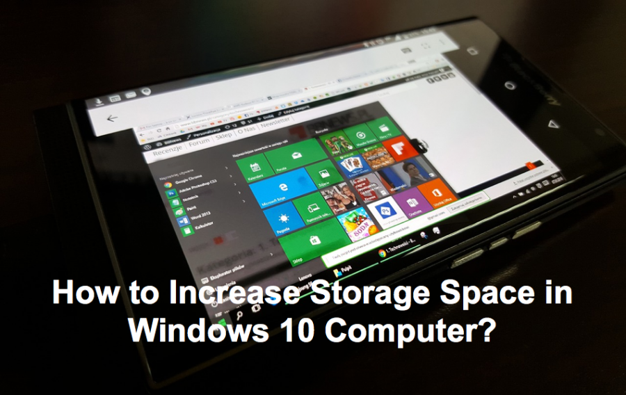 How to Increase Storage Space in Windows 10 Computer?