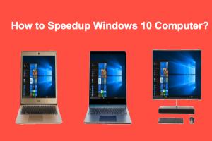 How to Speedup Windows 10 Computer?