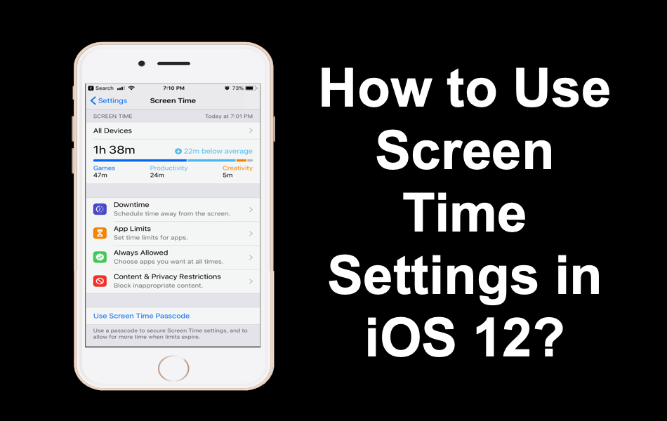 How to Use Screen Time Settings in iOS 12?