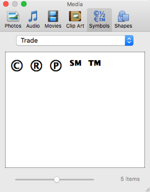 Insert Trademark in All Mac Office Documents