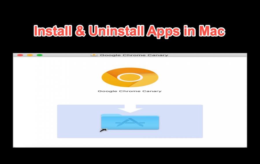 Install & Uninstall Apps in Mac