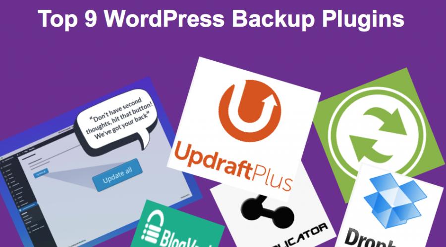 Top 9 WordPress Backup Plugins