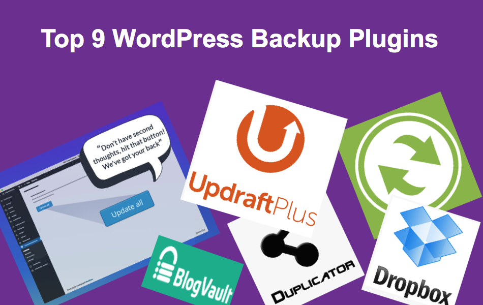 Top 9 WordPress Backup Plugins