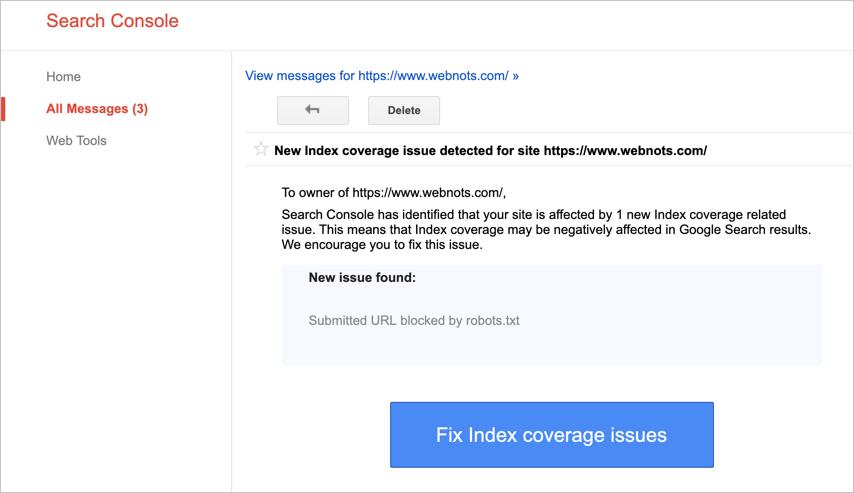 URL Blocked Issue