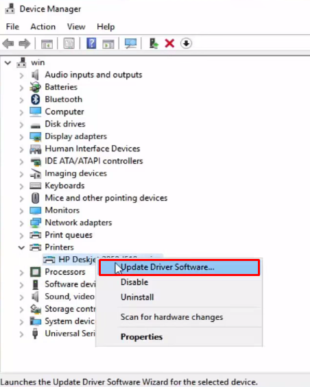 Update Driver Software For Printers