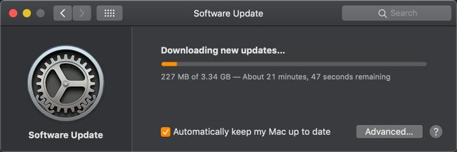 Downloading Software Updates