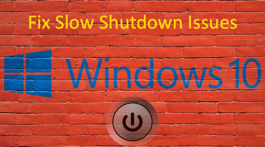 8 Ways to Fix Slow Shutdown Issues in Windows 10